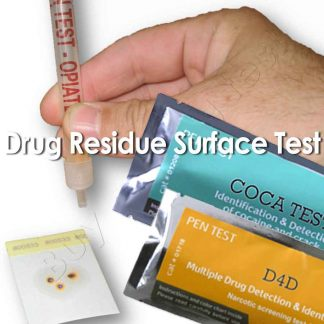 Multiple illicit drug residue test