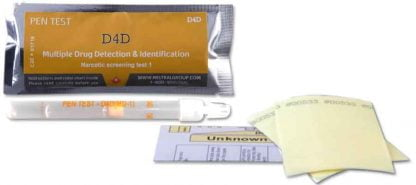 Drug residue surface test